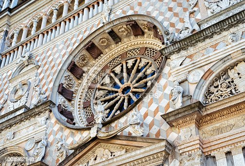 istock Decoration of Basilica of Santa Maria Maggiore Bergamo in Italy 1008962148