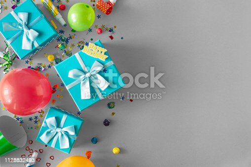 1093222958istockphoto Decoration Party background Copy Space Top View Flat Lay 1128832493