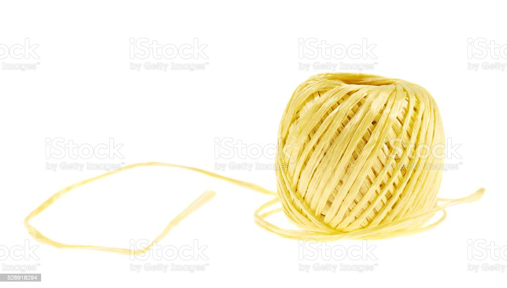 Decorational string reel isolated stock photo