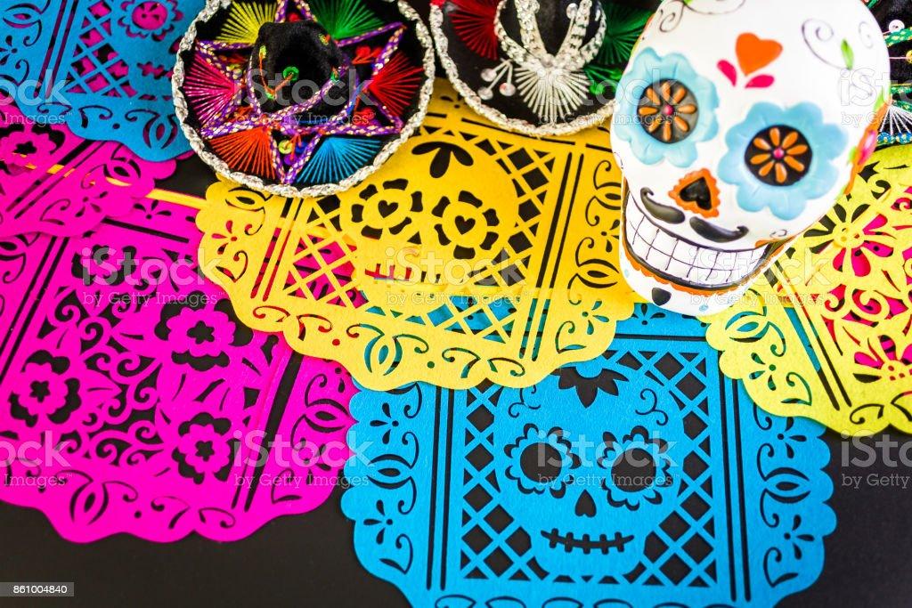 Decoraciones Para Fiesta Mexicana Tradicional Día De Muertos