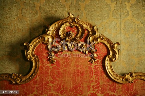 istock Decorative Antique Bedboard 471058769
