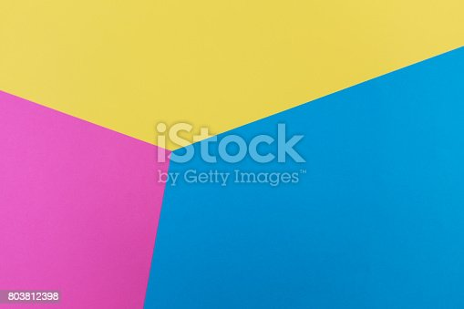 istock decorative art of colored paper pieces. 803812398