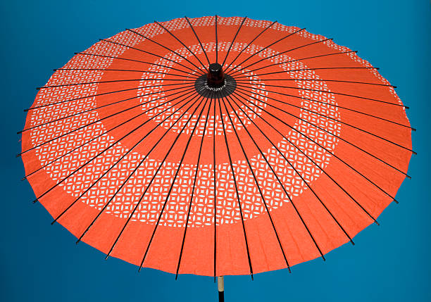 Decorative Asian Umbrella stock photo