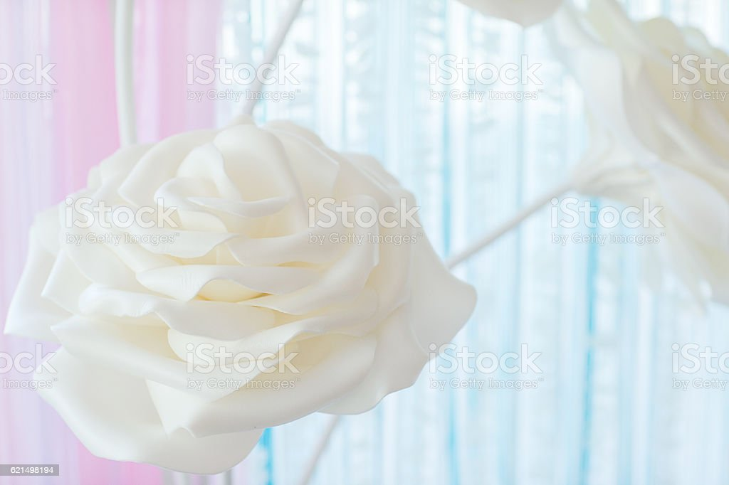 decorative background from flowers photo libre de droits