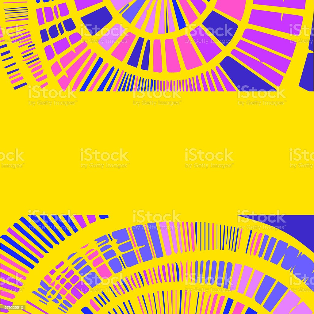 Decorative background with circular elements stock photo