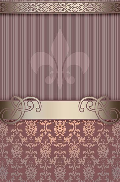 dekorative hintergrund mit vintage-muster.   - chrome menü stock-fotos und bilder