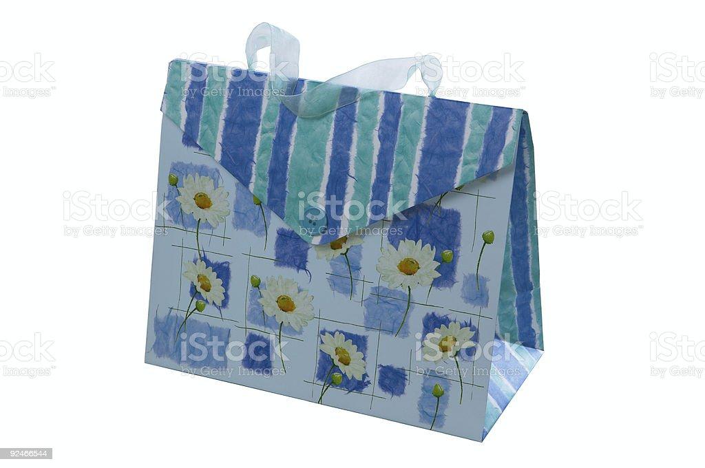 Decorative bag stock photo