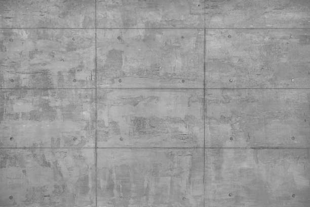 Decorative Beton Wall stock photo