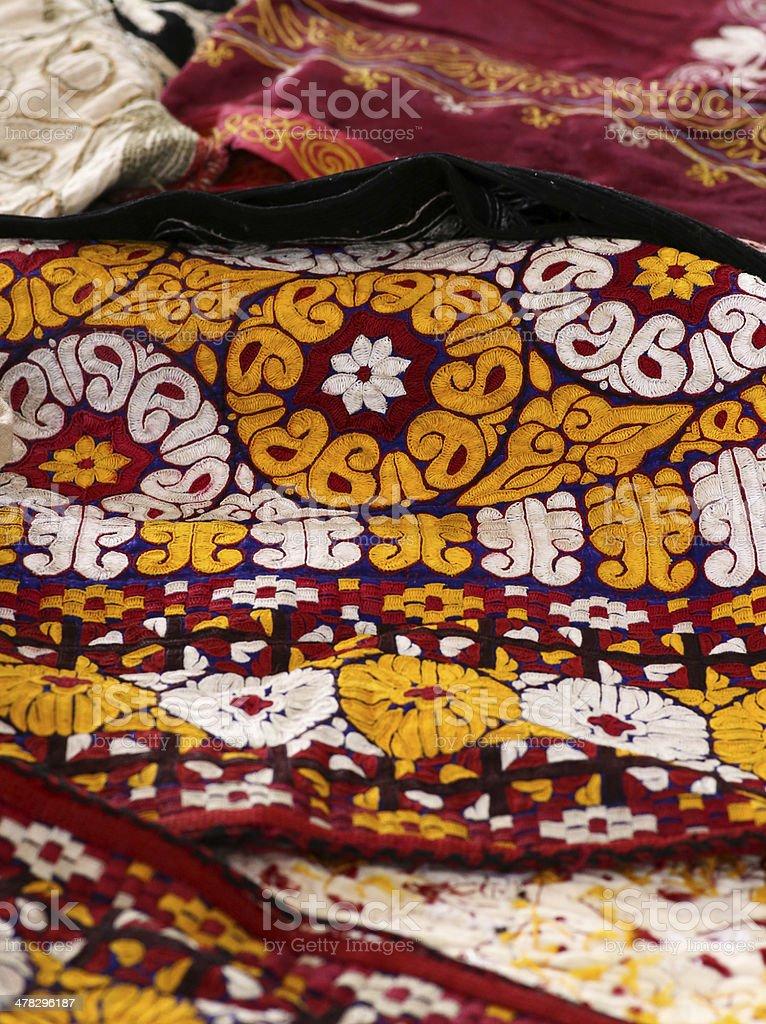 Decorative Blanket - Bedspread royalty-free stock photo