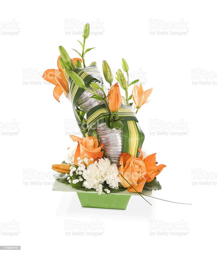 decorative bouquet composition royalty-free stock photo