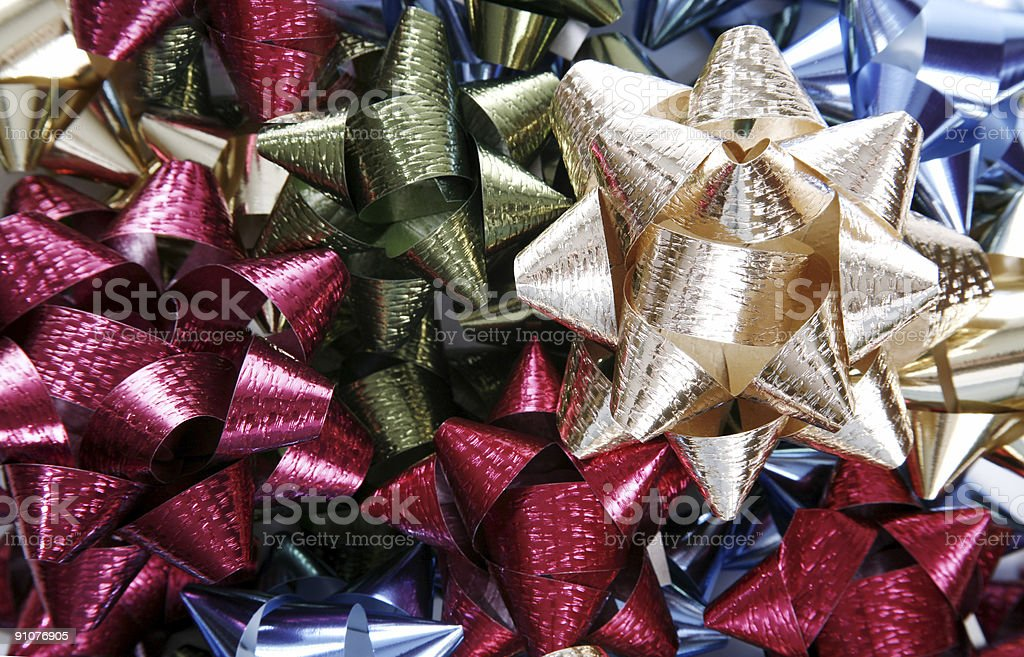 Decorative Bows royalty-free stock photo