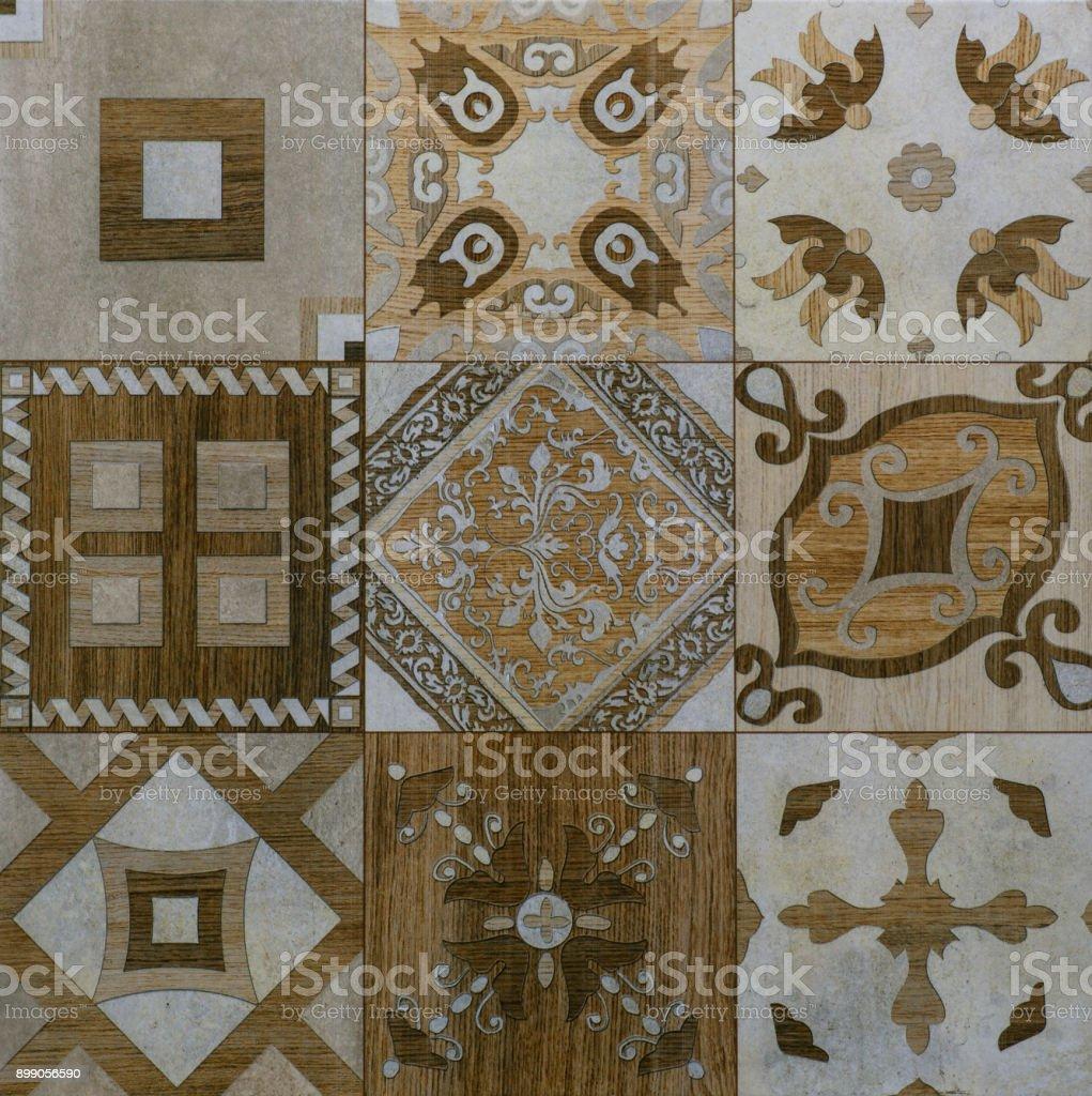 Ceramic Tile Mosaic Patterns Gallery Tile Flooring Design Ideas