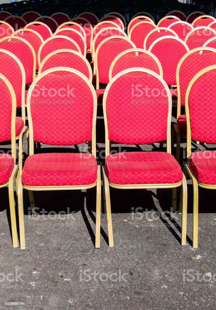Dekorativer Stuhl Wie Ein Möbel Artikel Im Blick Stockfoto Und Mehr