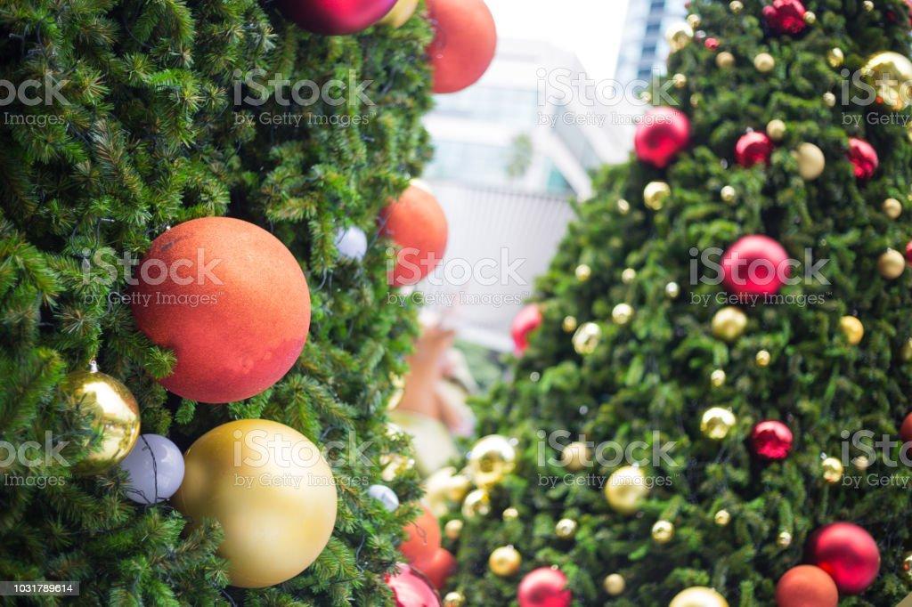 Dekorative Christbaumkugeln. – Foto