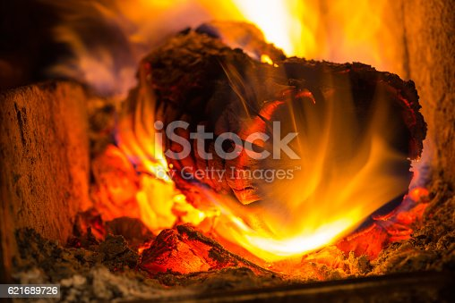istock Decorative colors of fire 621689726