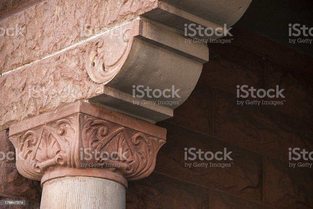 Decorative Column stock photo