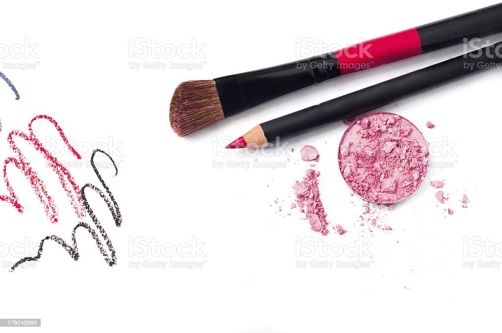 Decorative cosmetics royalty-free stock photo