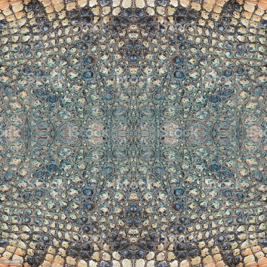 decorative design pattern, crocodile skin texture. royalty-free stock photo