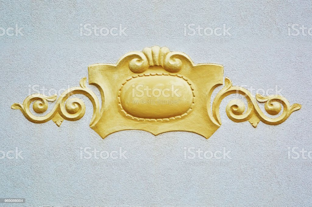 Decorative Element on the Wall royalty-free stock photo
