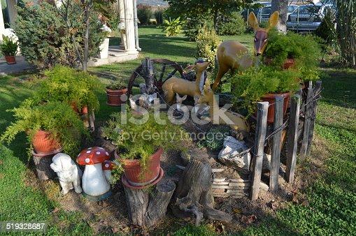 824824466 istock photo Decorative figures in the garden 519328687