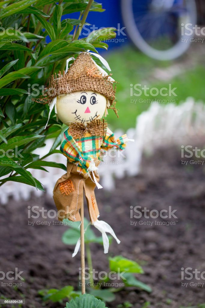 Decorative figurines for decorating the garden outdoors in the garden. foto stock royalty-free