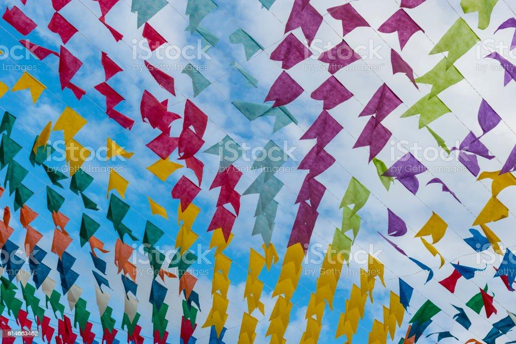 Bandeiras decorativas - foto de acervo