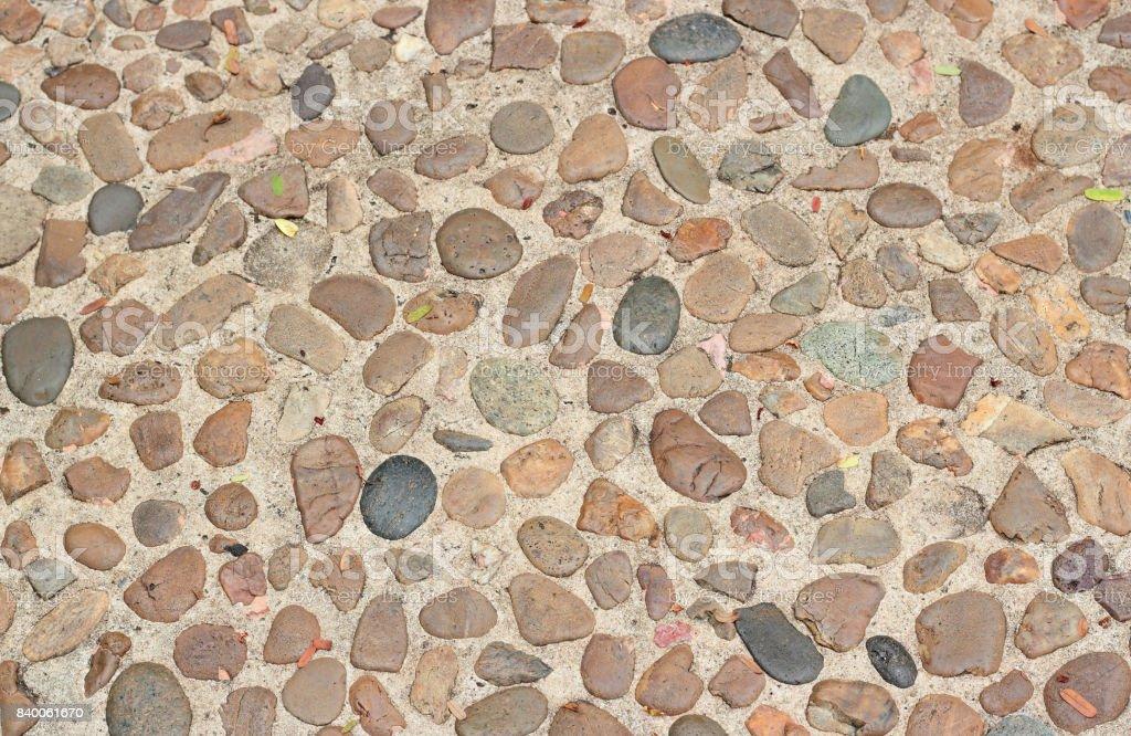 Dekorative Boden Muster Der Schottersteine Stock Fotografie Und Mehr