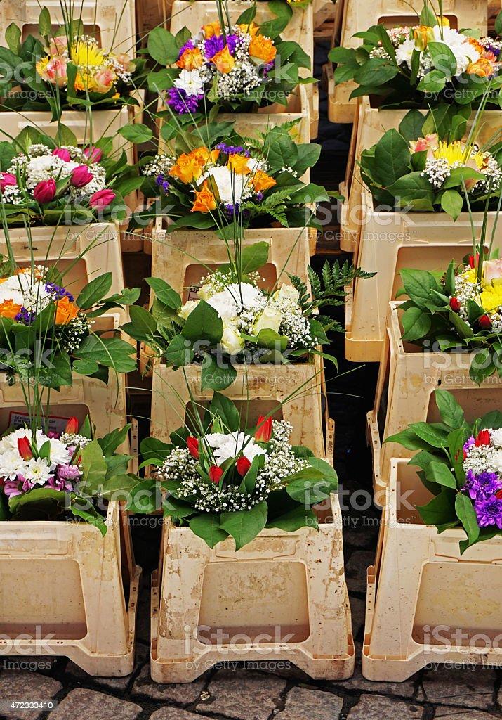 Decorativo Arreglos Florales En Venta Foto De Stock Y Más