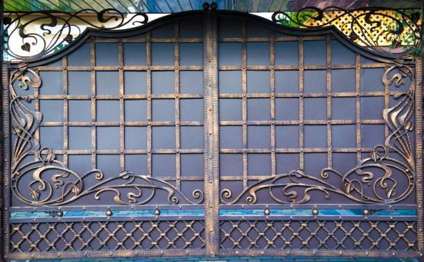 Royalty Free Iron Gate Designs Photo Gallery Pictures Images And