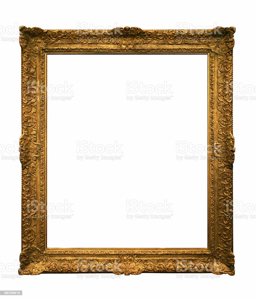 Decorative frame to use in your design royalty-free stock photo