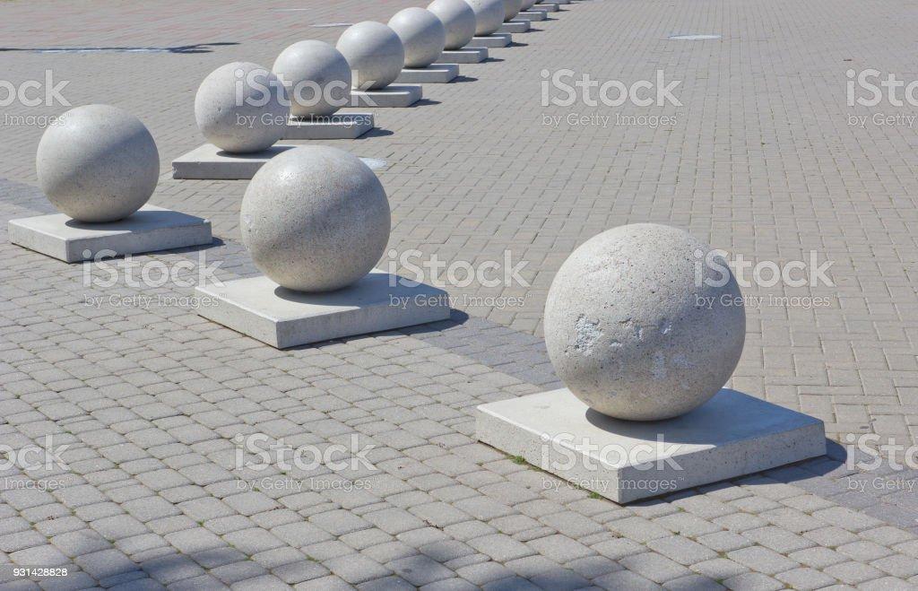 Decorative Granite Balls Stock Photo Download Image Now Istock