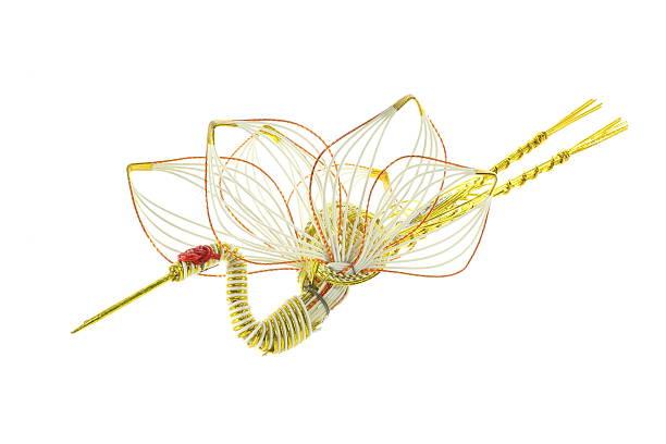 декоративные японский шнур - мидзухики стоковые фото и изображения