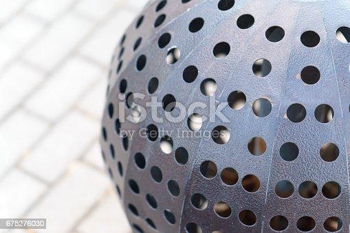 istock decorative metal balls with holes 675276030