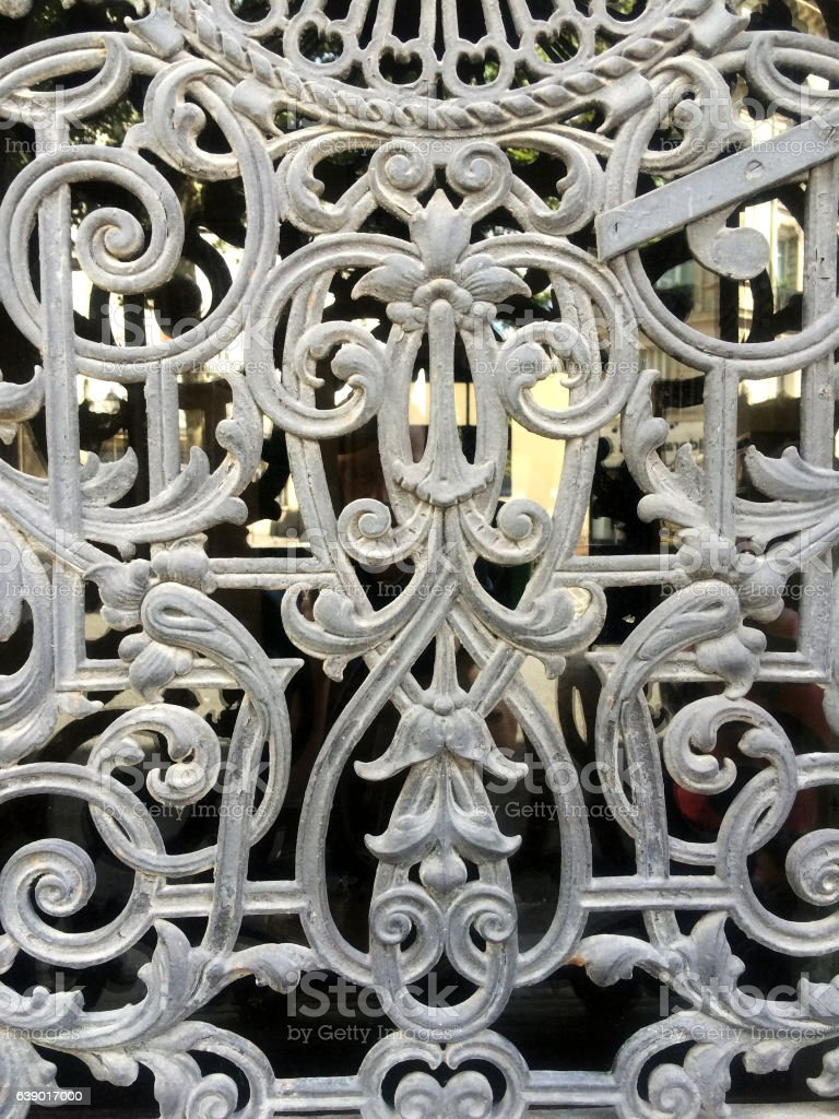 Decorative Metal Grate Stock Photo More Pictures Of Elegance Istock