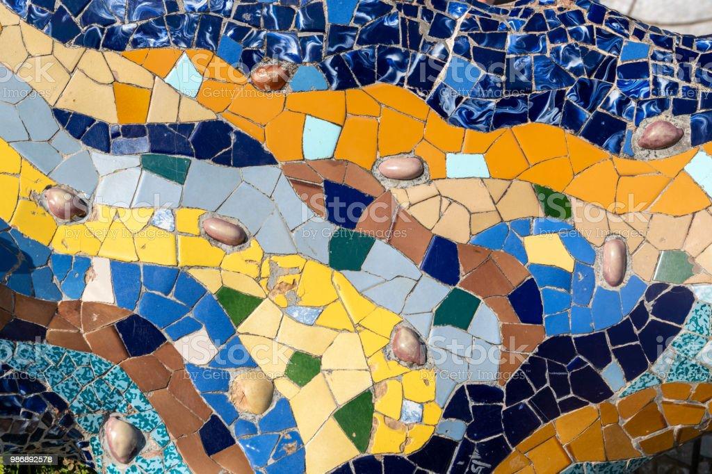 Dekorative mosaic – Foto