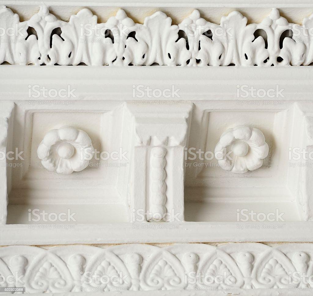 Decorative Moulding stock photo