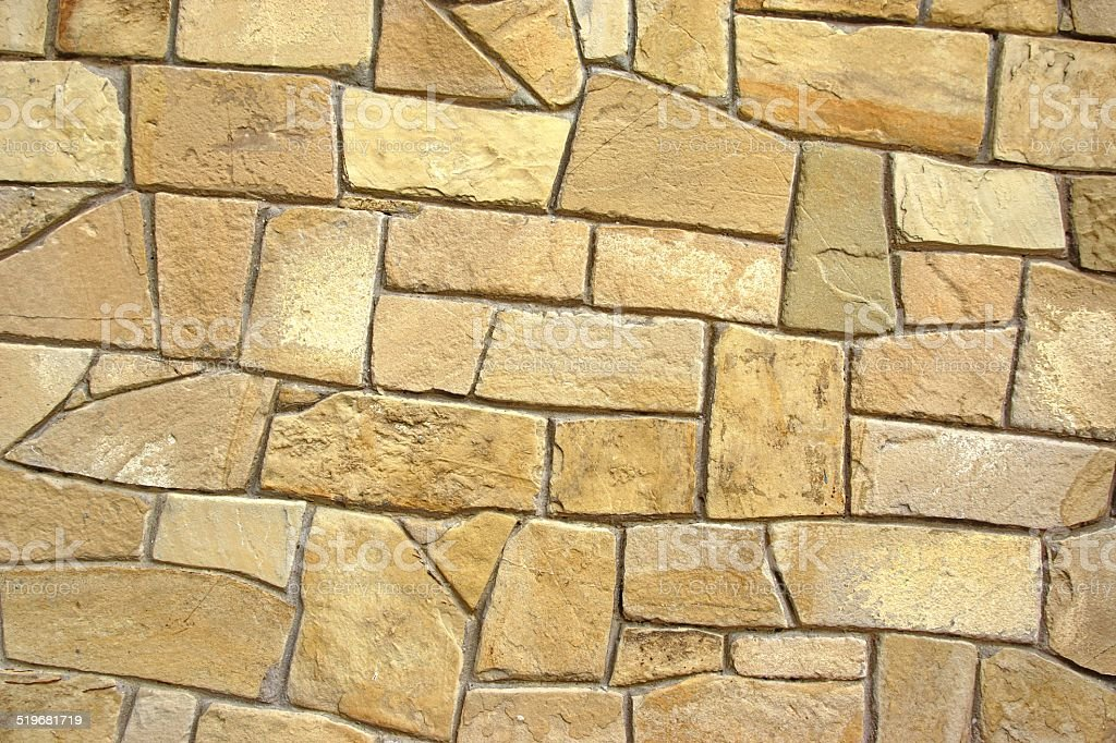 Decorative Natural Limestone Wall stock photo | iStock