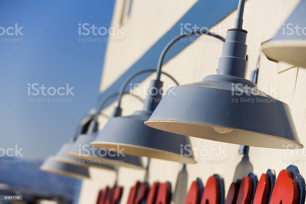 Decorative outdoor lights_01 royalty-free stock photo