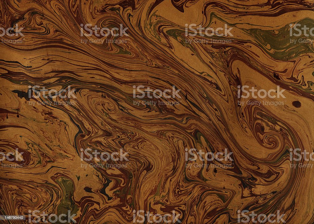 Decorative paper brown royalty-free stock photo