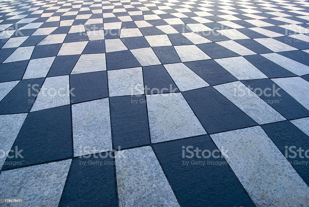 Decorative pavement background royalty-free stock photo
