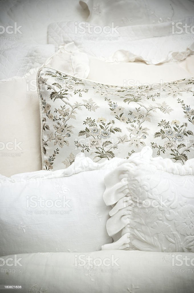 Decorative Pillows royalty-free stock photo