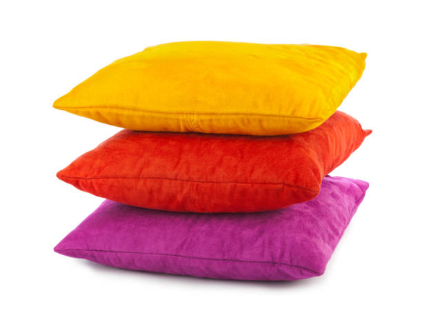 Decorative pillows stock photo