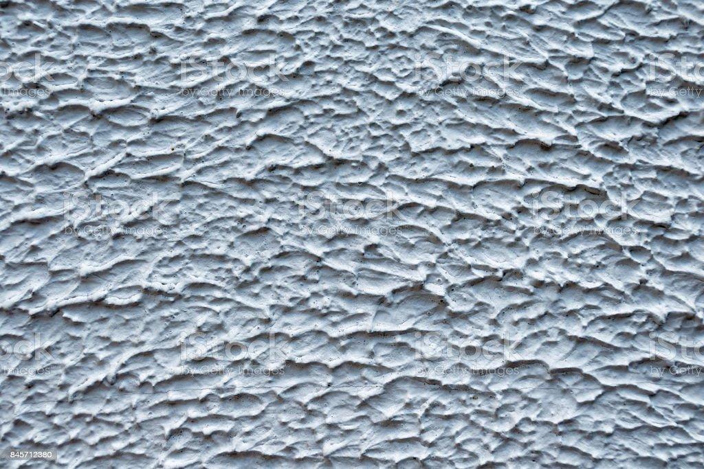 Dekorative Putz Mantel Grauweisse Farbe Gipsmuster An Der Wand In