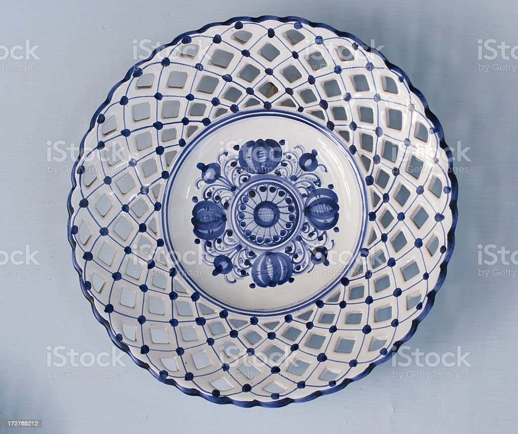 Decorative Plate royalty-free stock photo