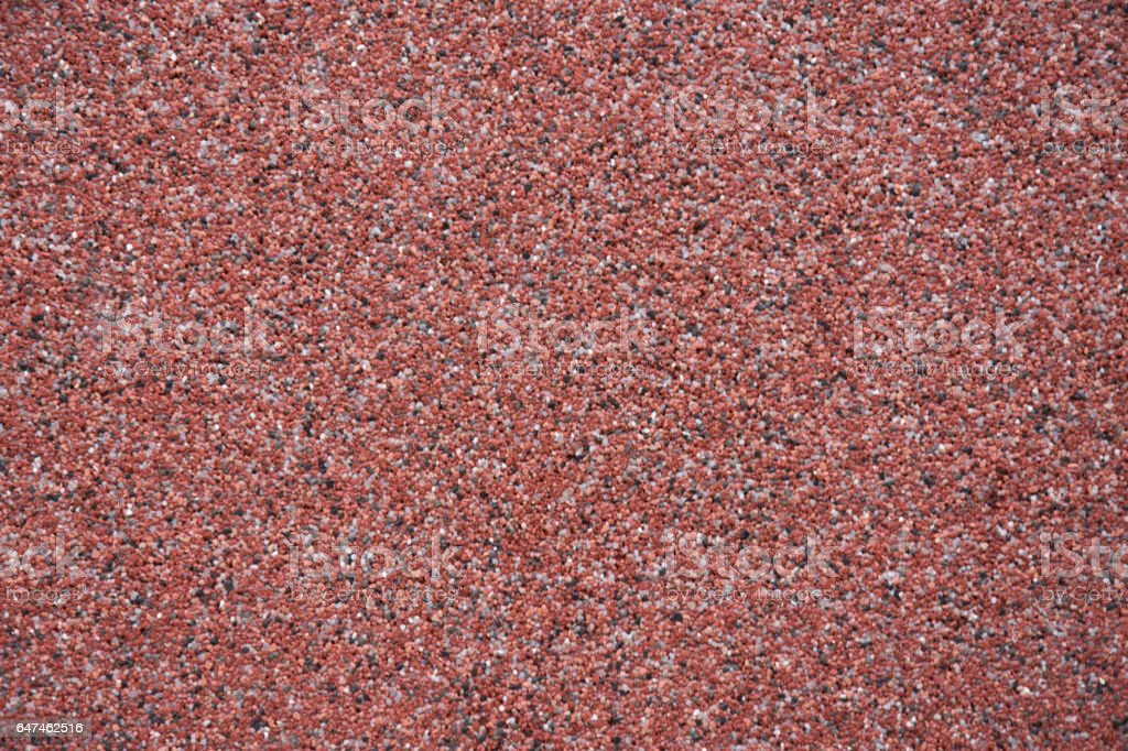 Decorative red stone royalty-free stock photo