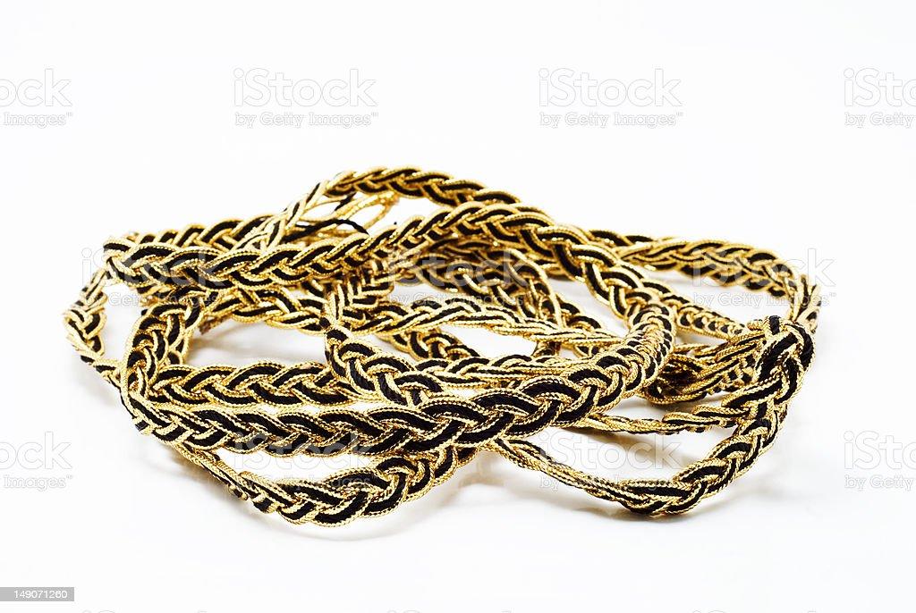 decorative ribbon for decoration royalty-free stock photo