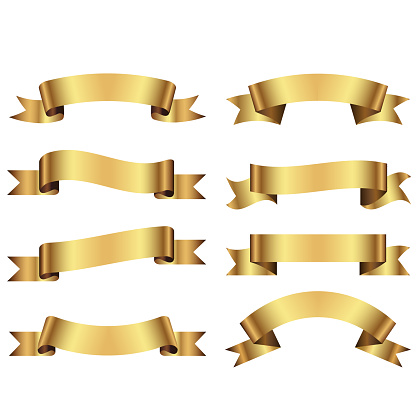 istock decorative ribbons and banners 1144481392