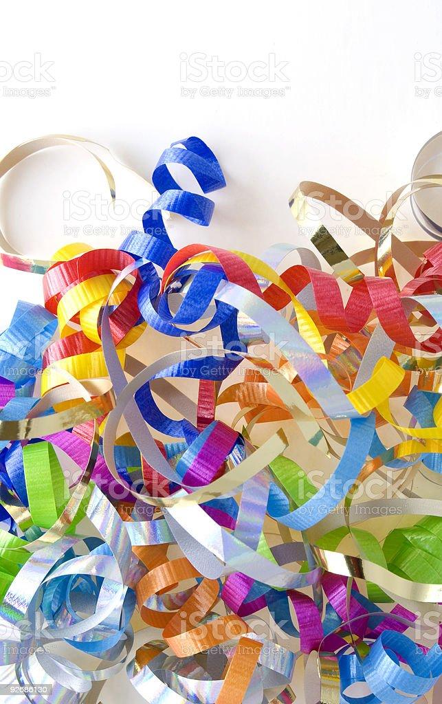 Decorative Ribbons royalty-free stock photo