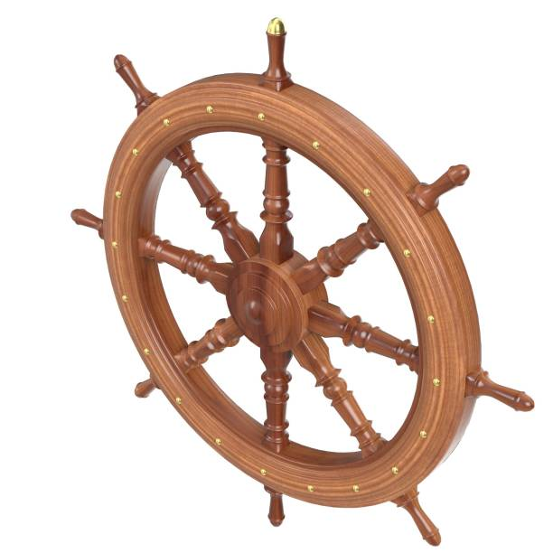 Decorative rudder - foto stock