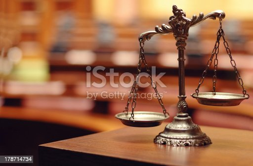 istock Decorative Scales of Justice 178714734